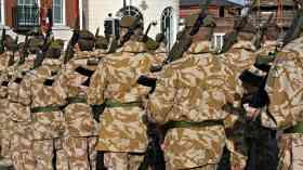UK sends military trainers to Jordan