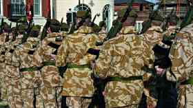 British army recruitment seeks young working-class people, report shows